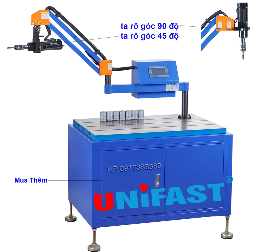 Máy taro 2 góc Unifast ETU-12-1200