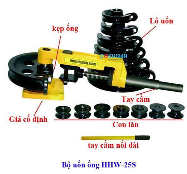 Bộ uốn ống HHW-25S