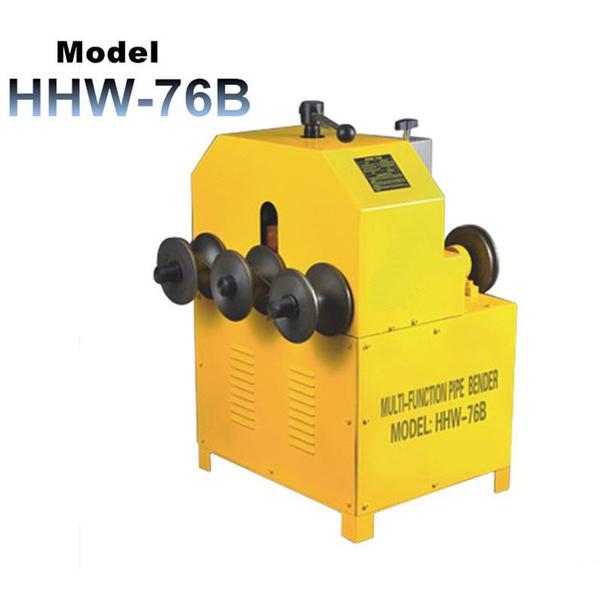 Máy uốn ống vuông tròn HHW-76B