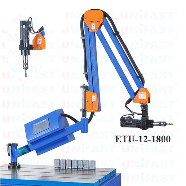 máy ta rô cần chạy điện ta rô đứng ngang ETU-12-1800